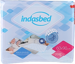 "Fragrances, Perfumes, Cosmetics Underpad ""Leakage Potection"", 20 pcs - Indasec Indasbed"