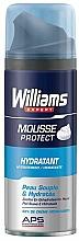 Fragrances, Perfumes, Cosmetics Moisturizing Shaving Foam - William Expert Protect Hydratant Shaving Foam