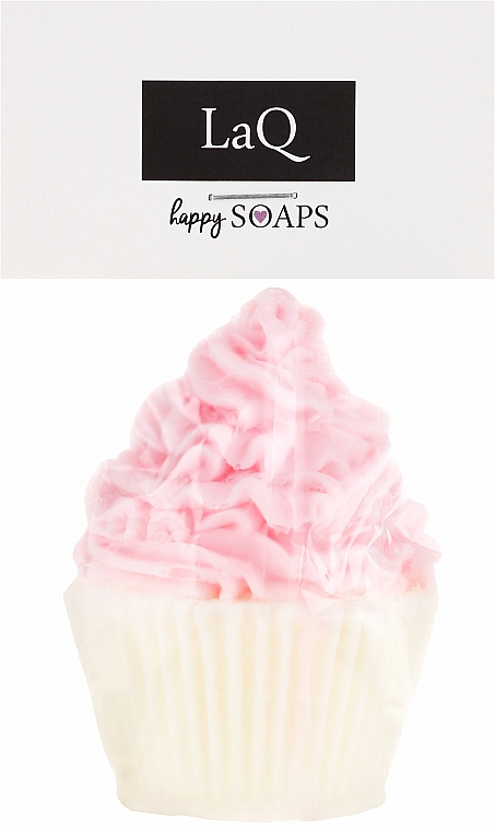 """Natural Handmade Soap """"Muffin"""" with Cherry Scent - LaQ Happy Soaps Natural Soap"""