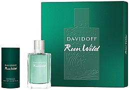 Fragrances, Perfumes, Cosmetics Davidoff Run Wild Men - Set (edt/100ml + deo/70g)