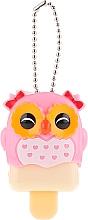 "Fragrances, Perfumes, Cosmetics Lip Balm ""Owl"", pink - Martinelia Color Lip Balm Wild Sweetness Peach"