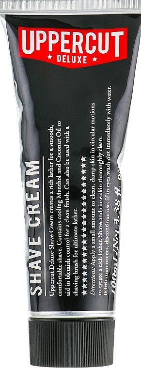 Shaving Cream - Uppercut Deluxe Shaving Cream — photo N1