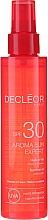 Fragrances, Perfumes, Cosmetics Hair & Body Oil - Decleor Aroma Sun Expert Summer Oil Spf30