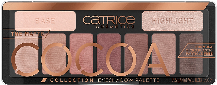 Eyeshadow Palette - Catrice The Matte Cocoa Collection Eyeshadow Palette