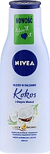 "Fragrances, Perfumes, Cosmetics Body Oil in Lotion ""Paradise Coconut"" - Nivea Body Oil in Lotion"