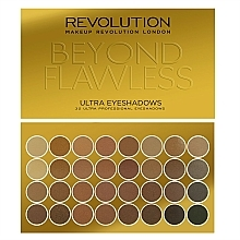 Fragrances, Perfumes, Cosmetics Eyeshadow Palette, 32 Shades - Makeup Revolution Ultra 32 Shade Palette Beyond Flawless