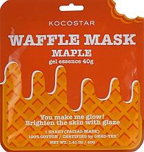 """Fragrances, Perfumes, Cosmetics Rejuvenating Waffle Mask """"Maple"""" - Kocostar Maple Waffle Mask"""