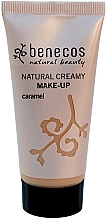 Fragrances, Perfumes, Cosmetics Foundation - Benecos Natural Creamy Foundation Make-Up