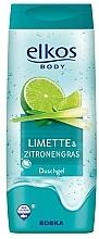 "Fragrances, Perfumes, Cosmetics Shower Gel ""Lime & Lemongrass"" - Elkos Lime & Lemongrass Shower Gel"