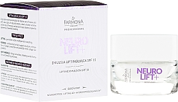 Fragrances, Perfumes, Cosmetics Face Lifting-Emulsion - Farmona Neurolift+ Face Lifting Emulsion SPF 15