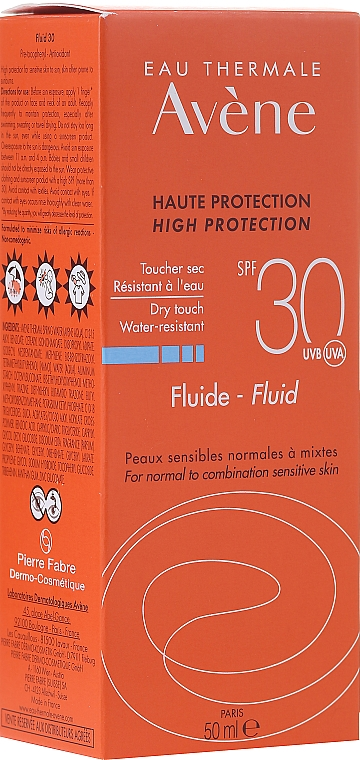 Sun Fluid - Avene Sun Care Fluid SPF 30