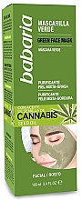 Fragrances, Perfumes, Cosmetics Cleansing Mask - Babaria Cannabis