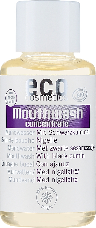 Black Cumin Extract Mouthwash Concentrate - Eco Cosmetics Mouthwash
