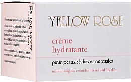 Fragrances, Perfumes, Cosmetics Moisturizing Day Cream - Yellow Rose Creme Hydratante