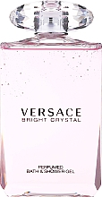 Fragrances, Perfumes, Cosmetics Versace Bright Crystal - Shower Gel
