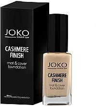 Fragrances, Perfumes, Cosmetics Foundation - Joko Cashmere Finish Mat & Cover Foundation