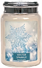 Fragrances, Perfumes, Cosmetics Scented Candle - Village Candle Winter Sparkle