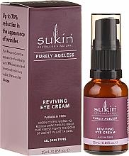 Fragrances, Perfumes, Cosmetics Rejuvenating Eye Cream - Sukin Purely Ageless Reviving Eye Cream