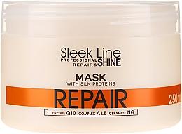 Fragrances, Perfumes, Cosmetics Hair Mask - Stapiz Sleek Line Repair Hair Mask