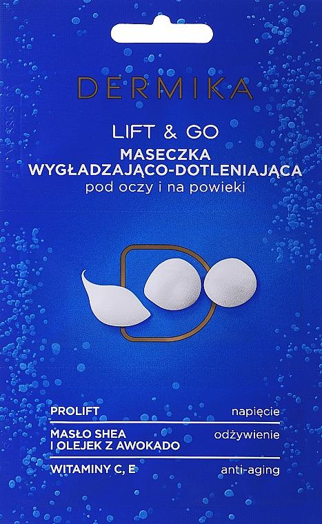"""Eye Mask """"Lift & Go"""" - Dermika Smoothing and Oxygenating Mask"""