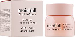Fragrances, Perfumes, Cosmetics Collagen Eye Cream - Etude House Moistfull Collagen Eye Cream