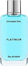 Fragrances, Perfumes, Cosmetics Christopher Dark Platinum - Eau de Toilette
