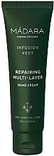 Fragrances, Perfumes, Cosmetics Regenerating Hand Cream - Madara Cosmetics Infusion Vert Repairing Multi-Layer Hand Cream