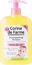 Fragrances, Perfumes, Cosmetics Delicate Almond Blossom Extract Shampoo - Corine de Farme Baby