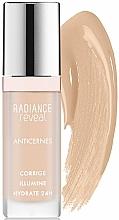 Fragrances, Perfumes, Cosmetics Liquid Face Corrector - Bourjois Radiance Reveal Concealer