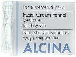 "Fragrances, Perfumes, Cosmetics Face Cream ""Fennel"" - Alcina T Facial Cream Fennel"