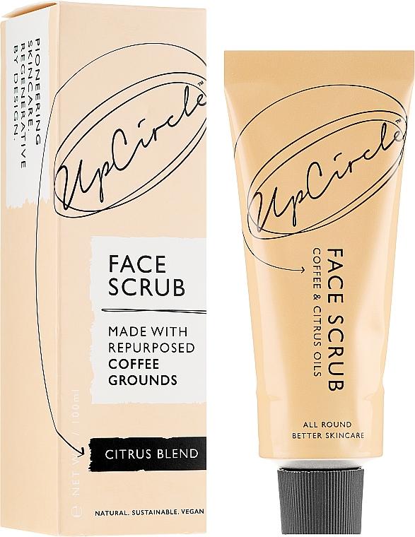 "Coffee Face Scrub ""Citrus"" - UpCircle Coffee Face Scrub Citrus Blend"