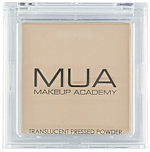 Fragrances, Perfumes, Cosmetics Transparent Face Powder - MUA Translucent Pressed Powder