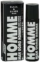 Fragrances, Perfumes, Cosmetics Omerta Black & Silver Man - Eau de Toilette