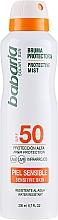 Fragrances, Perfumes, Cosmetics Sunscreen Body Spray - Babaria Protective Mist For Sensitive Skin Spf50