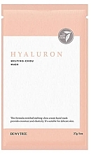 Fragrances, Perfumes, Cosmetics Hyaluronic Face Mask - Dewytree Hyaluron Melting Chou Mask