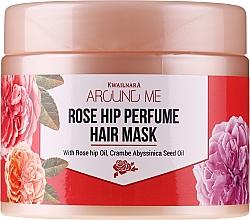 Fragrances, Perfumes, Cosmetics Damaged Hair Mask - Welcos Around Me Rose Hip Perfume Hair Mask