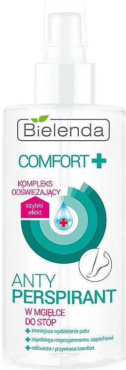 Foot Antiperspirant Spray - Bielenda Comfort Foot Antiperspirant Spray Mist