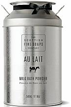 Fragrances, Perfumes, Cosmetics Milk Bath Powder - Scottish Fine Soaps Au Lait Milk Bath Powder