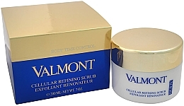 Fragrances, Perfumes, Cosmetics Regenerating Cellular Body Scrub Cream - Valmont Cellular Refining Scrub