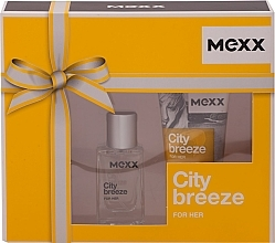Fragrances, Perfumes, Cosmetics Mexx City Breeze For Her - Set (edt/15ml + sh/gel/50ml)