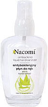 Fragrances, Perfumes, Cosmetics Antibacterial Hand Spray in Glass Bottle - Nacomi Antibacterial Liquid Hand Sanitizer