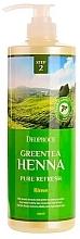 Fragrances, Perfumes, Cosmetics Conditioner - Deoproce Green Tea Henna Pure Refresh Rinse