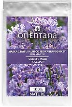 "Fragrances, Perfumes, Cosmetics Eye Mask ""Rosemary"" - Orientana Eye Silk Pad Rosemary"