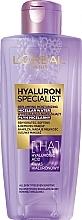 Fragrances, Perfumes, Cosmetics Moisture-Replenishing Micellar Water - L'Oreal Paris Hyaluron Expert