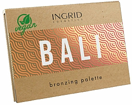 Fragrances, Perfumes, Cosmetics Face Bronzer Palette - Ingrid Cosmetics Bali Bronzing Palette