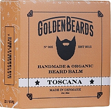 Fragrances, Perfumes, Cosmetics Toscana Beard Balm - Golden Beards Beard Balm