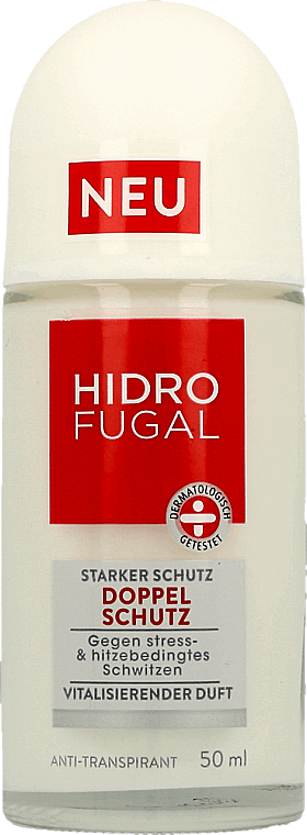 """Roll-On Antiperspirant """"Double Protection"""" - Hidrofugal Double Protection Roll-on"""