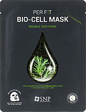 Fragrances, Perfumes, Cosmetics Tea Tree Bio-Cell Mask - SNP Double Synergy Soothing Bio-Cell Mask