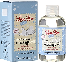 Fragrances, Perfumes, Cosmetics Baby Soothing Massage Oil - Love Boo Baby Kind & Calming Massage Oil