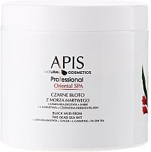 Fragrances, Perfumes, Cosmetics Dead Sea Black Mud - APIS Professional Oriental Spa Dead Sea Black Mud